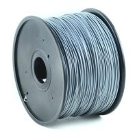 gembird abs plastic filament gia 3d printers 175 mm silver photo