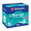 verbatim dvd rw 120min 47gb 4x 10pcs jewel case photo