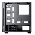 case innovator ajazz t400 transparent black extra photo 3