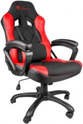 genesis nfg 0752 nitro 330 gaming chair black red photo