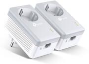 tp link tl pa4010pkit av600 powerline adapter with ac pass through starter kit photo