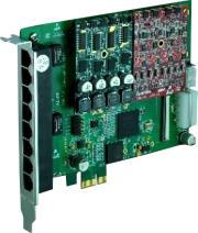 openvox a810e01 8 port analog pci e card 1 fxo400 module photo