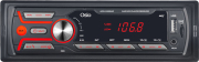 osio aco 4369 car radio usb sd aux in red led backlit photo