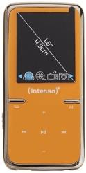 intenso scooter 8gb video mp4 lcd 18 mp3 player orange photo