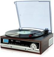 camry cr1113 turntable with radio photo