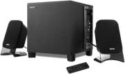 edifier xm2pf fm radio multimedia 21 speaker system