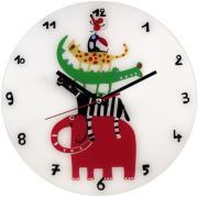 hama 106935 colourful animals children s wall clock photo
