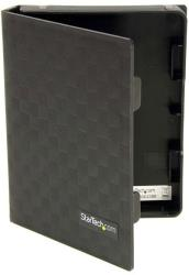 startech 25 anti static hard drive protector case black 3pk photo