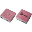 lamtech lam050516 mp3 player 8gb with fm radio pink photo