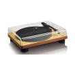 lenco ls 50 turntable with built in speakers wood photo