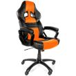 arozzi monza gaming chair orange photo