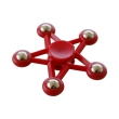 spinner five star 5 metal ball red photo