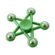 spinner five star 5 metal ball green photo