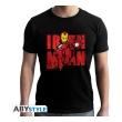 marvel t shirt iron man graphic man ss black new fit l photo