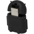 logilink aa0062 mini micro usb b m to usb a f otg adapter black photo