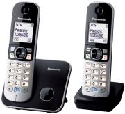 panasonic kx tg6812 duo black photo